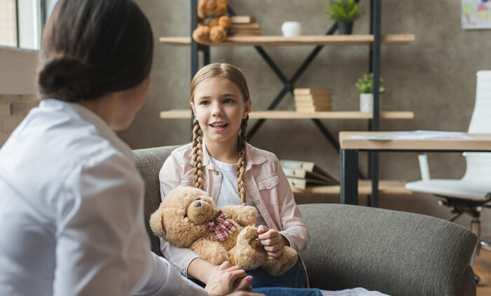 Семейный психолог за работой